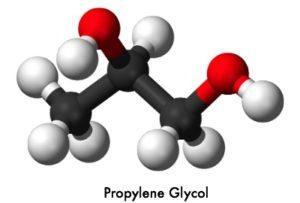 propylene glycol molecular structure